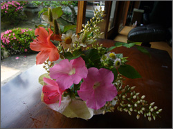 日和庵:生花